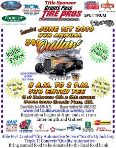 The 8th Annual 541 Outlaw Charity Car Show